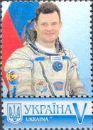 Ukraine 2016, Space, Russia Cosmonaut, 1v