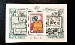 RUSSIA 1974 MNH (**)YVERT Bloc 96 3 Congress Of The Society Of Philatelists