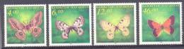 1996. Kazakhstan, Butterflies, 4v, Mint/** - Kazakhstan