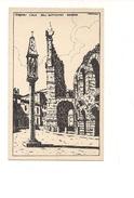 $3-5080 Veneto VERONA Xilo Photo Sborgi Illustratore Scattina Non Viaggiata Anni '30 - Verona