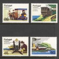 Portugal Madeira Sc# 104-107 MNH 1985 20e-60e Transportation