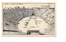 $3-5082 Veneto VERONA Xilo Photo Sborgi Illustratore Scattina Non Viaggiata Anni '30 - Verona