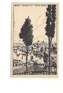 $3-5083 Veneto VERONA Xilo Photo Sborgi Illustratore Scattina Non Viaggiata Anni '30 - Verona