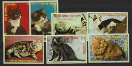 Guinée Equatoriale Série Complète Neuve Avec Chats