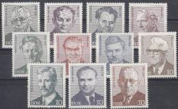 DDR 1907-1917 Postfrisch ** (16310) - Neufs
