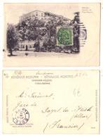 (Mexique) 124, Mexico, Ruhland Ahlschier 96, Castillo De Chapultepec - Mexiko