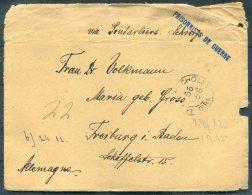 1915 France Kriegsgefangenen, Prisonniers De Guerre. Censor POW Cover + Card Cholet - Freiburg, Germany