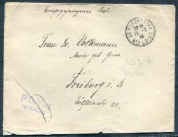 1916 France Kriegsgefangenen, Prisonniers De Guerre. Censor POW PG Vise Cover Le Puy Loire - Freiburg, Germany
