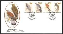 South Africa Bophuthatswanas Sc# 228-231 FDC 1989 Birds - South Africa (1961-...)