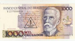 Brasil, Banconota 1000 Cruzados Unc. - Brasilien
