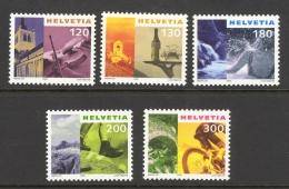 Switzerland Sc# 1076-1091 MNH Assorted 2000 Sites & Artifacts