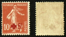 N° 146 CROIX ROUGE +5c/10c Neuf N** B/TB Cote 7,5€