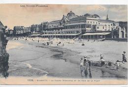 Francia - BIARRITZ - Pyrénées Atlantiques - Plage Et Casino Municipal - Biarritz
