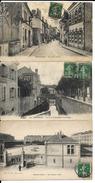 AMLB - 3 CPA - 45 - MONTARGIS - Rue De La Sirene - Bld Victopr Hugo - Caserne - Montargis