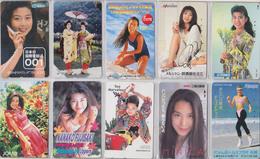 LOT De 50 Télécartes Japon  - FEMME - GIRL WOMAN Japan Phonecards - Frau Telefonkarten 2591 - Telefonkarten