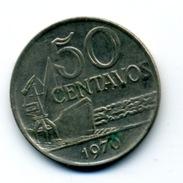 1970 50 CENTAVOS - Brésil