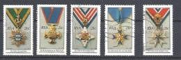 SUD AFRICA        1990 National Orders   USED - South Africa (1961-...)