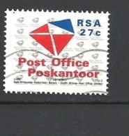 SUD AFRICA    1991 Establishment Of Post Office Ltd And Telekom Ltd  USED - Usati
