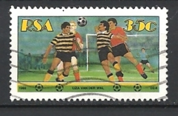 SUD AFRICA    1992 Sports     FOOTBALL       USED - Usati