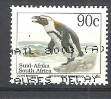 SUD AFRICA   1993 Endangered Fauna   LATIN INSCRIPTION    USED  Spheniscus Demersus AFRICAN PENGUIN - Sud Africa (1961-...)