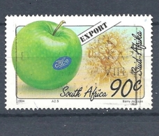 SUD AFRICA  -1994 Export Fruits     USED    Malus Domestica - South Africa (1961-...)
