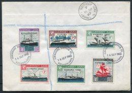 1963 Guernsey Sark Europa First Day Cover. FDC - Guernsey