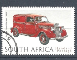 SUD AFRICA  1999 The 125th Anniversary Of Universal Postal Union - Classic Post Vehicles   USED - Used Stamps