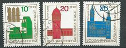 DDR  1965  Mi 1117 - 1119  800 Jahre Chemnitz (Karl-Marx-Stadt)  Gestempelt