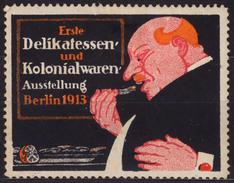 FOOD / Fruit Lemon - Exposition Berlin / 1913 Germany - Cinderella / Label / Vignette - MH