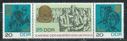 DDR 1967  Mi 1320 - 1322  Messe Der Meister Von Morgen  Postfrisch
