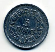 1945   5 Francs Type LAVRILLIER ALUMINIUM - France