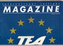 TEA Magazine Verkoop Aan Boord Vente à Bord Duty Free Shop On Board Vliegtuig Avion Airplane Flugzeug - Books, Magazines, Comics