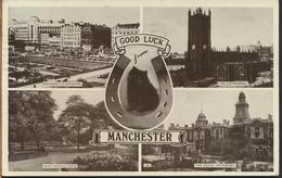 °°° 1082 - GOOD LUCK FROM MANCHESTER - 1953 °°° - Manchester