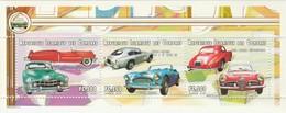 MVU-BK1-152-2+152-3 MINT ¤ COMORES 1999  SHEET + BLOCK ¤ - AUTOMOBILES DU MONDE - OLD CARS - OLDTIMERS AUTO´S