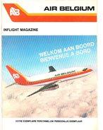 AIR BELGIUM Magazine Verkoop Aan Boord Vente à Board Duty Free Shop On Board  Vliegtuig Avion Airplane Flugzeug - Books, Magazines, Comics