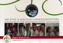 HUNGARY UNGARN HONGRIE 100 FORINT HUNGARIAN SCOUT ASSOCIATION 2012 PROOF - Hongrie