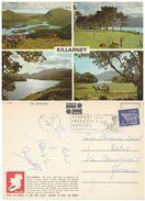 CARTOLINA VIAGGIATA 1972 EIRE KILLARNEY ANNULLO SPECIALE (VP604 - Storia Postale