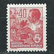 DDR 1953  Mi 418  FM: Fünfjahrplan - DDR