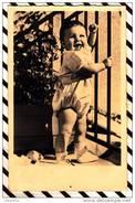 U2362 CARTE PHOTO ENFANT    2 SCANS - Photographie