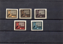 Russie 1922 - 5 Eme Anniv De La République Des Soviets  - YT 170/75 *