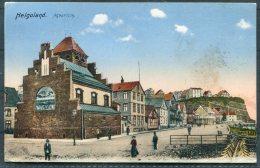 1916 Germany Helgoland Aquarium Postcard. Matr. Artl. Feldpost Marine