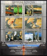 FEROE 2009 BF MNH GEOLOGICAL ORIGINS ORIGENES GEOLOGICOS Geology Geologie - Cote 27 €