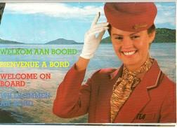 TEA Magazine Verkoop Aan Boord Vente à Board Duty Free Shop On Board Vliegtuig Avion Airplane Flugzeug - Advertenties