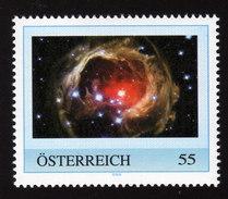 ÖSTERREICH 2009 ** Lichtecho Des Sterns V838 Monocerotis - PM Personalized Stamp MNH - Astronomie