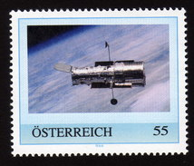 ÖSTERREICH 2009 ** Hubble Space Telescope über Der Erde - PM Personalized Stamp MNH - Astronomie