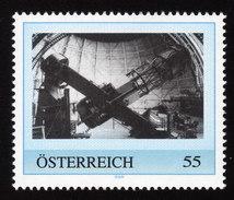 ÖSTERREICH 2009 ** Hooker 100-Inch Telescope / Kalifornien - PM Personalized Stamp MNH - Astronomie