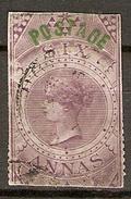 INDE Anglaise    -   1866.   Y&T N° 26 Oblitéré.  Surchargé - Inde (...-1947)