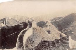 ¤¤  -  CHINE  -   Cliché Albuminé  -  La Muraille De Chine  - Voir Description   -  ¤¤ - Chine (Hong Kong)