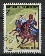 DAHOMEY : CAVALIERS -  N° Yvert  298 Obli