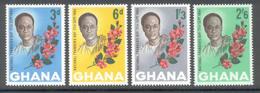 Ghana 1964 - Michel 181 - 184 **